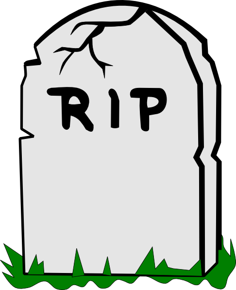Grave clipart halloween To Tombstone & Art Art