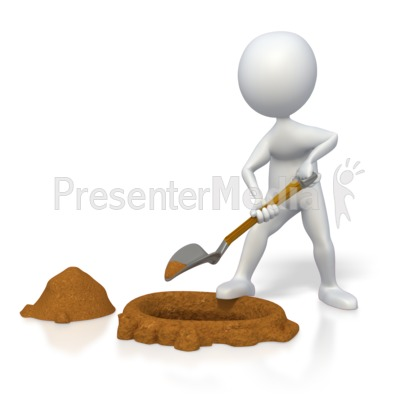 Grave clipart hole Clipart ID# for Digging Grave