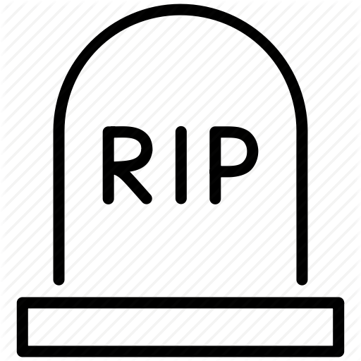 Grave clipart rest in peace Art crossbones Tombstone epitaph on