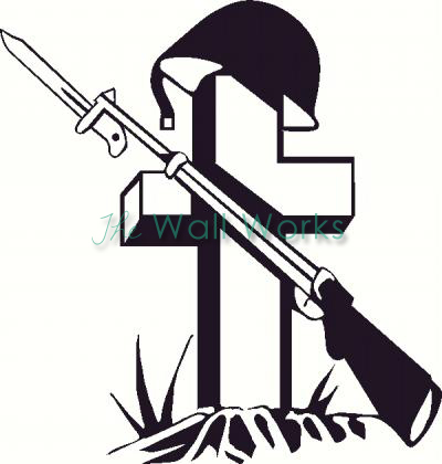 Grave clipart soldier Country America stripes force Custom