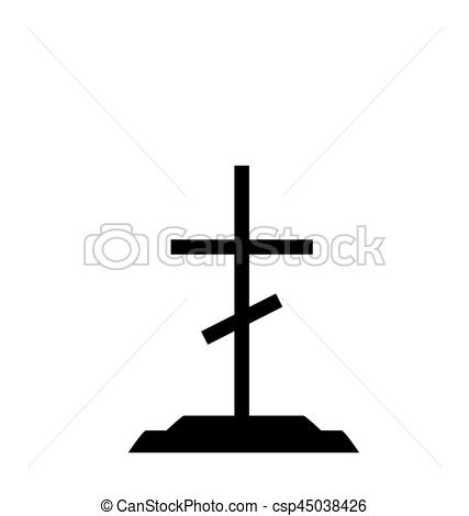 Grave clipart tombstone cross Tomb  Vector on Tombstone