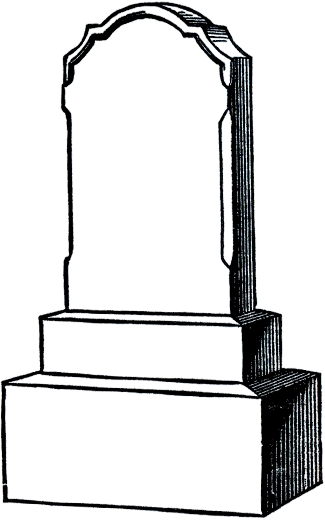 Clipart cliparts Headstone Old Headstone