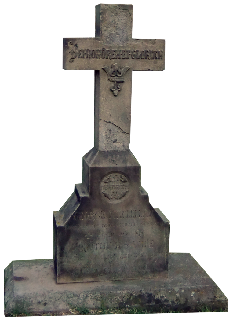 Tombstone clipart tombstone cross Gravestone Tombstone by Clipart Cross