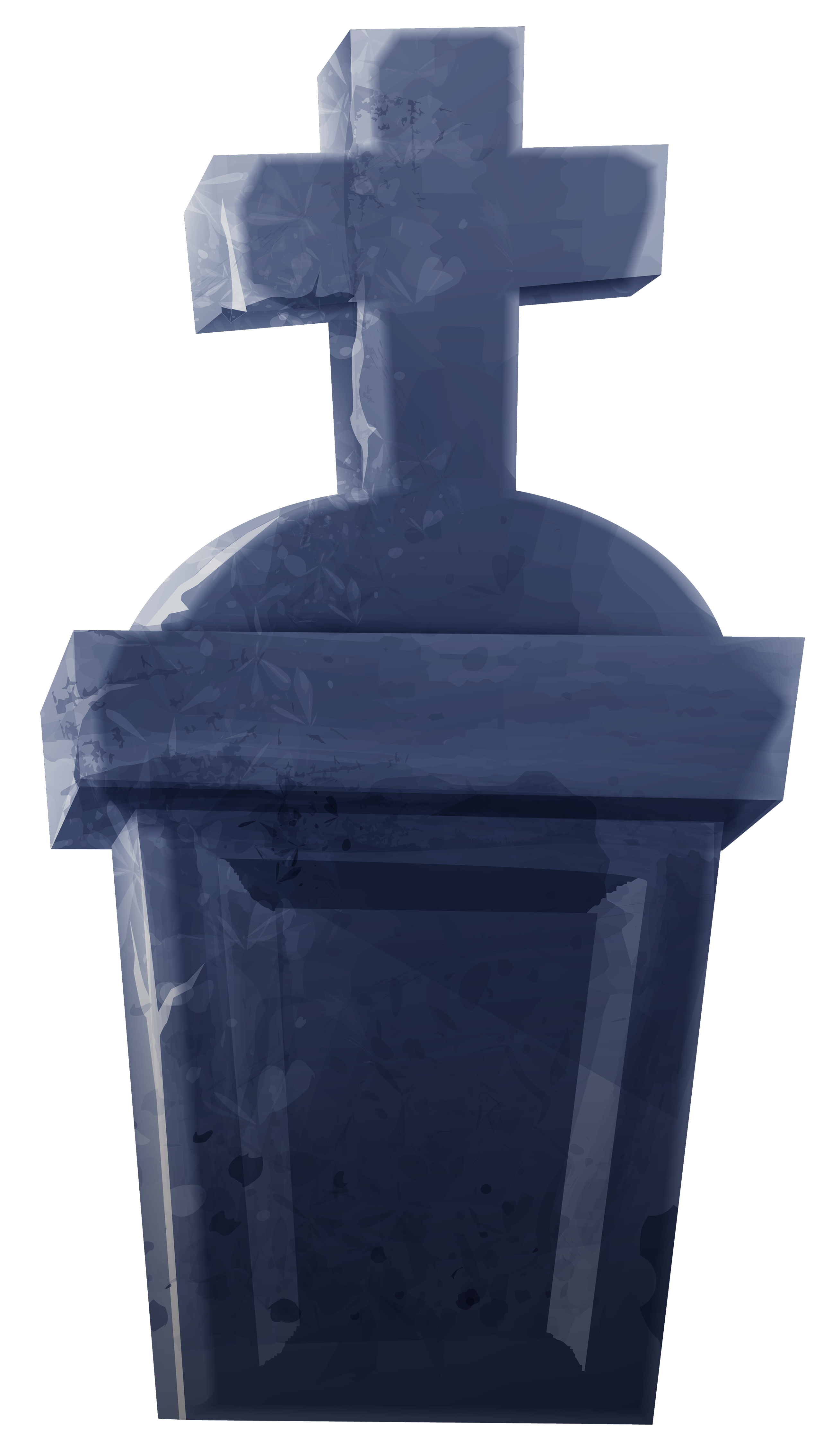 Tombstone clipart tombstone cross Clipart  View size Image
