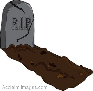 Grave clipart blank #8