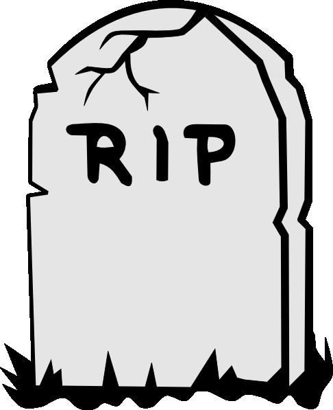 Gravestone clipart Clker Rip com Clip as: