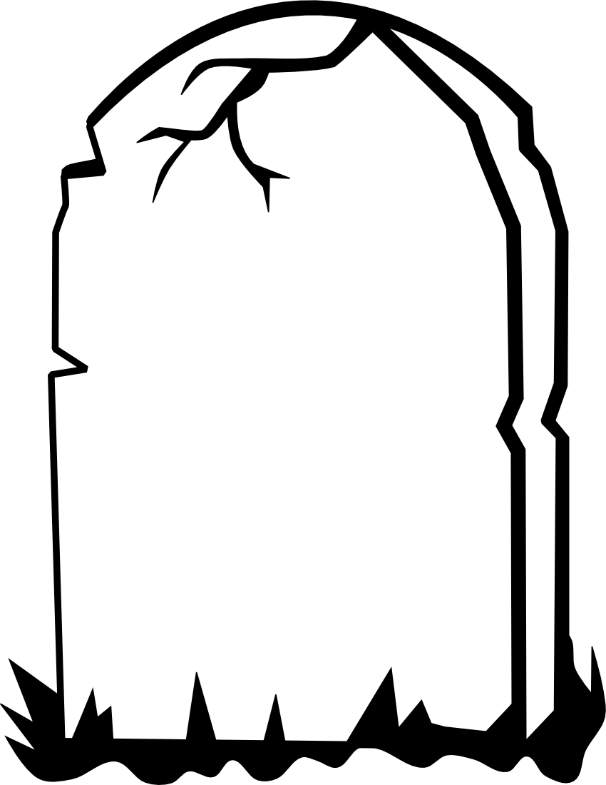Gravestone clipart The Best Desing  Clipart