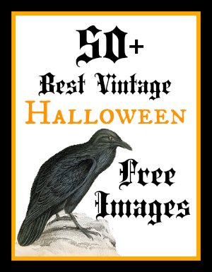 Tombstone clipart vintage The Vintage Gravestone graphicsfairy_best_halloween Fairy