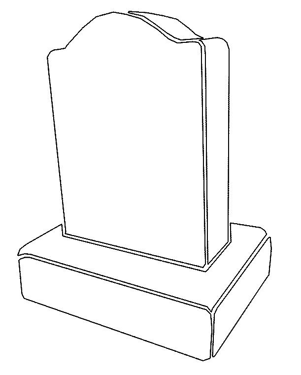Tombstone clipart plain The Clipart Cliparts Tombstone Clip