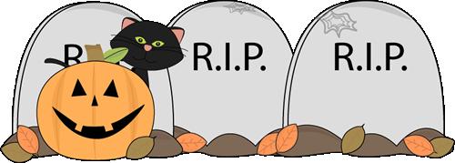 Graveyard clipart In Clip Graveyard Halloween Art