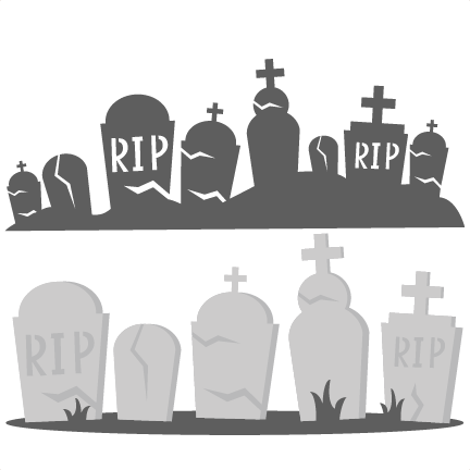 Cemetery clipart border Graveyard svg #18 Download svg