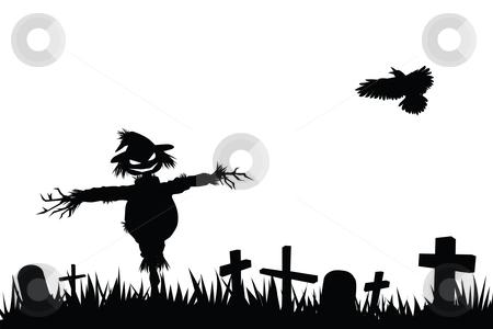 Cemetery clipart silhouette Halloween vector silhouette silhouette Halloween