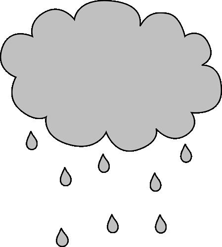 Lightening clipart grey cloud Cloud Rain Image Clipped Rain