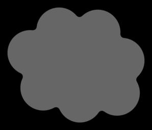 Clouds clipart grey cloud Gray Cloud com Art Clip