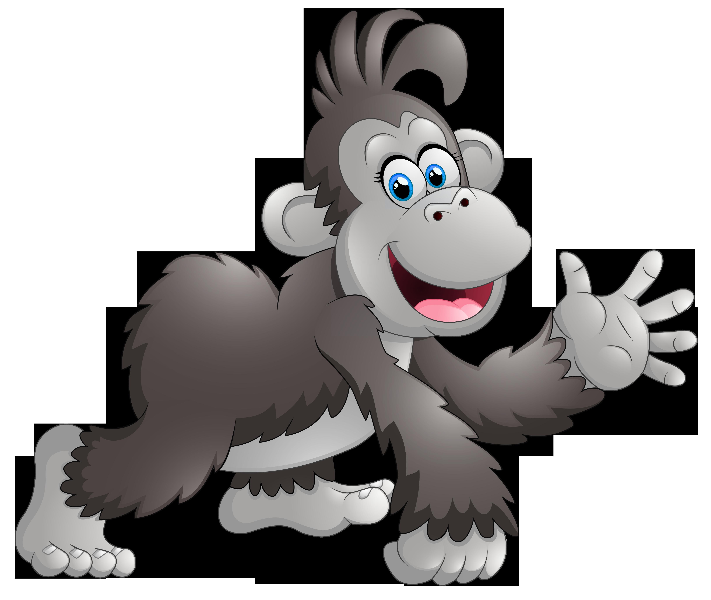 Baboon clipart happy monkey Monkeys Cartoon Clipart Cartoon Monkey