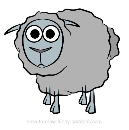 Sheep clipart transparent background #5