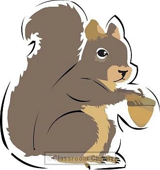Gray Squirrel clipart Clipart art #9209 clip 0