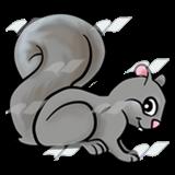 Gray Squirrel clipart Gray Art Gray Abeka Squirrel