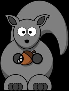 Gray Squirrel clipart At Squirrel clip online vector