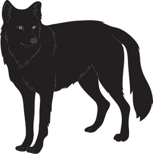 Wolf clipart silhouette Images Clipart Gray Gray Clipart