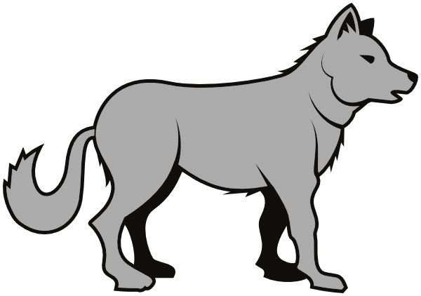 Arctic Wolf clipart wolf cub Gray wolf #54 clip gray