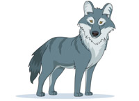 Gray Wolf clipart Clipart Pictures Kb wolf Art