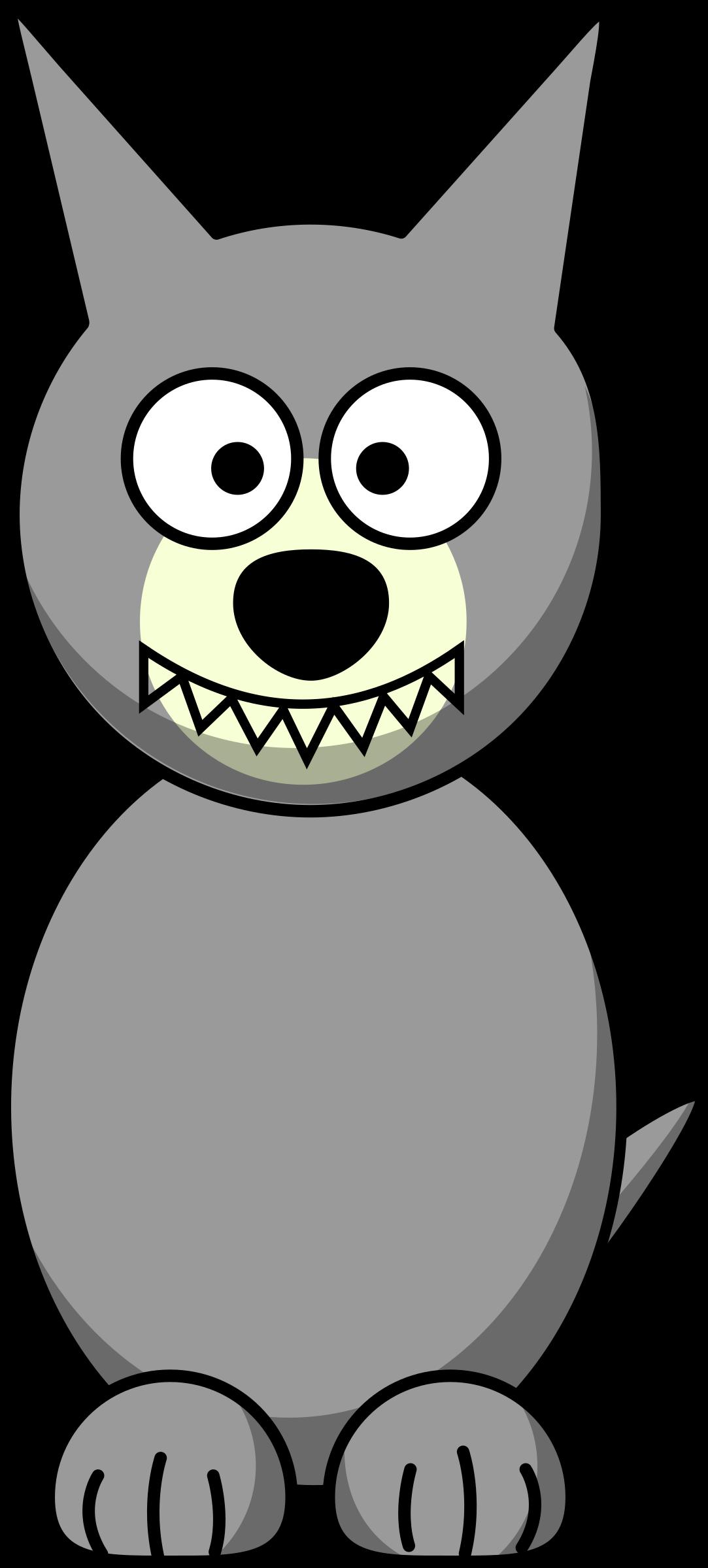 Wolf clipart nose Wolf Clipart Cartoon Cartoon Wolf