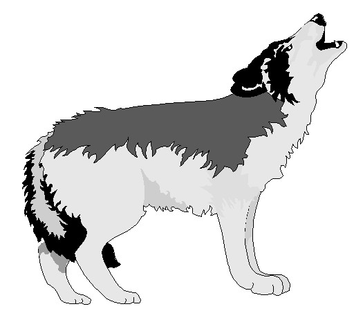 Wolf clipart basic For org you Wolf art
