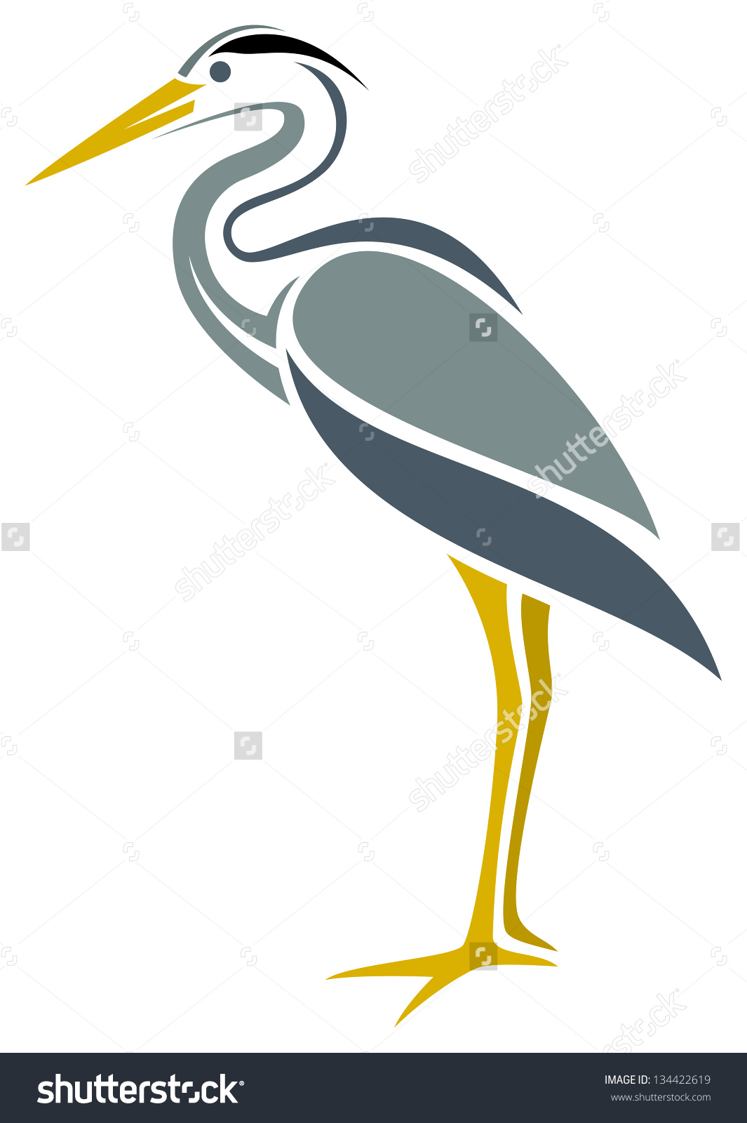 Great Blue Heron clipart Clipart Savoronmorehead Heron clipart 61