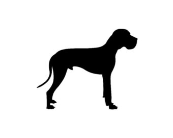 Great Dane clipart Great dane Great art co