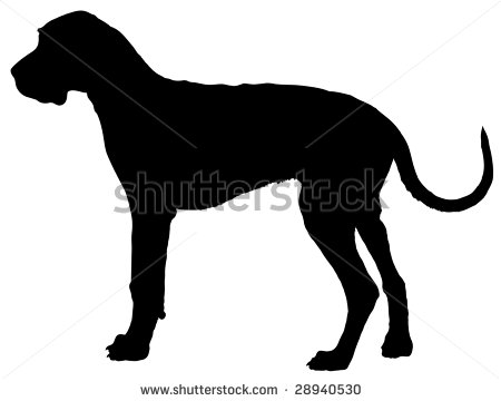 Great Dane clipart Dane drawings Download Great Dane
