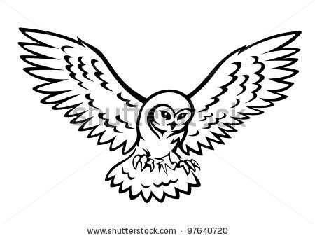 Great Gray Owl clipart #13