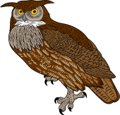 Horned Owl clipart M Owl Browse Arms of