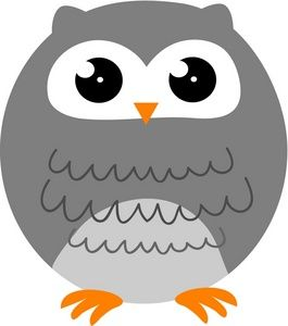 Owl clipart round Image: on cartoon more on