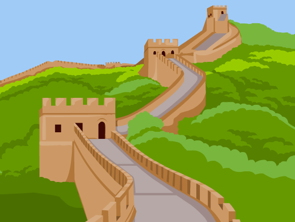 Great Wall Of China clipart  BrainPOP China Wall Great