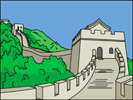 Great Wall Of China clipart Great Pictures Search for wall