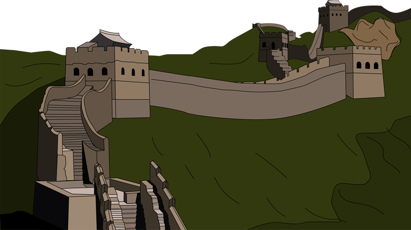 Great Wall Of China clipart Fort Pie & Clipart wall