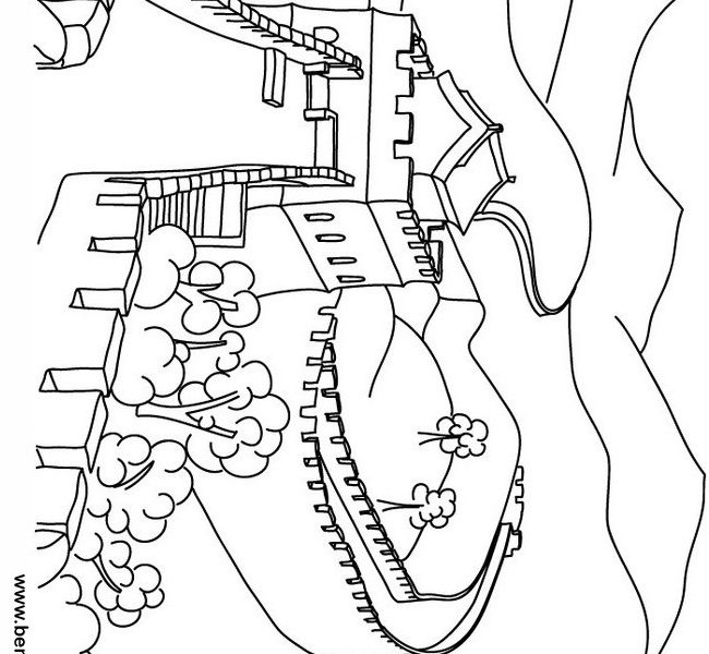 Great Wall Of China clipart Great Wall Of China Coloring Page Of Coloring In China Coloring