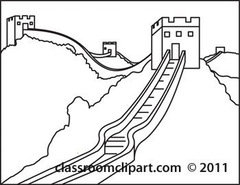 Great Wall Of China clipart The Great Wall Of China Drawing Steps Wall wall of Great China