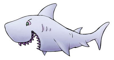 Bull Shark clipart open shark mouth Clipart  Download White Shark