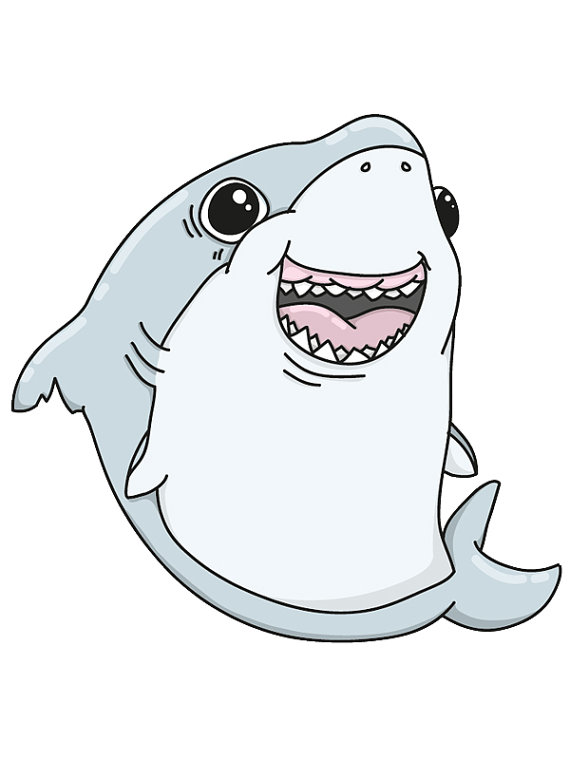 Shark clipart sweet #1