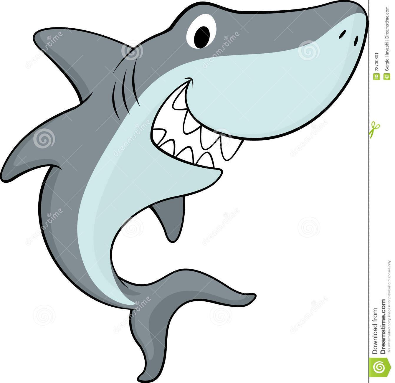 Shark clipart for kid #1