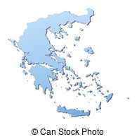 Greece clipart greece map Gradient 3  112 with