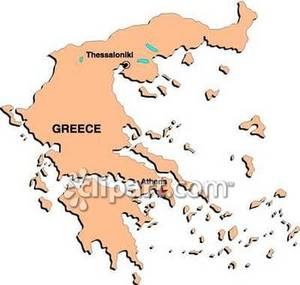 Greece clipart greece map Of Free Map Clipart of