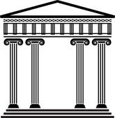 Architecture clipart greek column Ancient column greek vector architecture