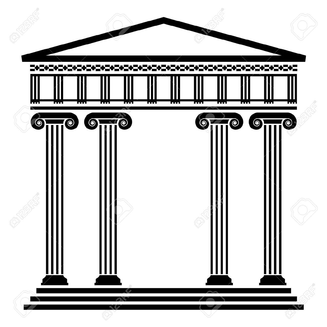 Parthenon clipart palace Ancient  Free Greek Royalty