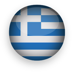 Greece clipart greek flag Animated round Flags button Clipart
