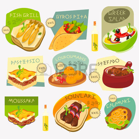 Olive clipart mediterranean food Stock And collections greek Cliparts