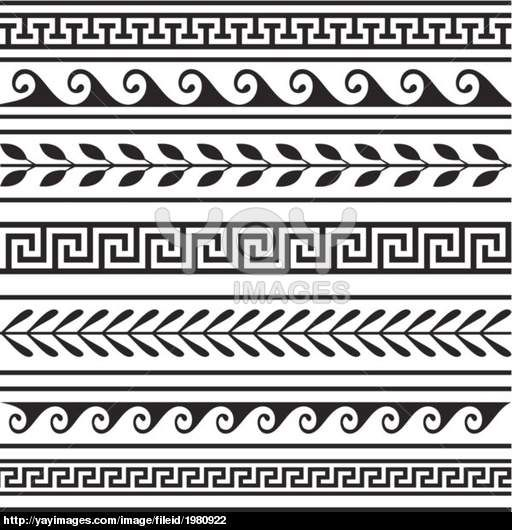 Greece clipart greek vase Clip 25+ Formal Geometric on