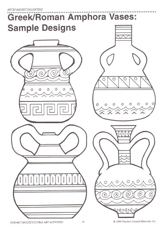 Greece clipart greek vase Vase Google greek Αναζήτηση shapes